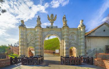 Wall Mural - Carolina gate, Alba Iulia fortress, Transylvania, Romania
