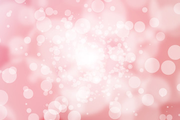 pink abstract blur bokeh background