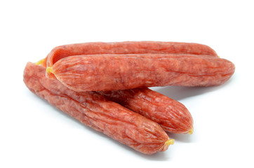 Chinese sausage isolated