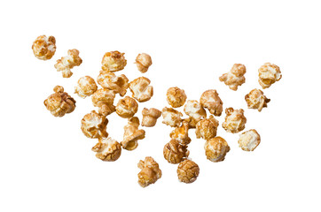 Popcorn with caramel taste
