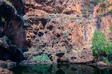 A remote the lily pond lagoon  Katherine Gorge, Northern Territory, Australia.