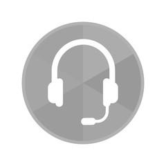 Kreis Icon - Headset