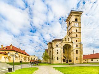 Wall Mural - St Michael's Cathedral  in Alba Iulia fortress, Transylvania, Romania