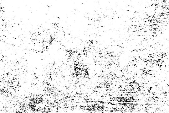 Distressed and rough concrete floor vector texture. Rustic texture with grain and stains.