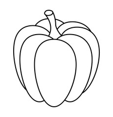 pumpkin  vector symbol icon design. Beautiful illustration isolated on white background