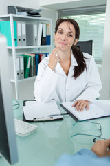 miling female doctor