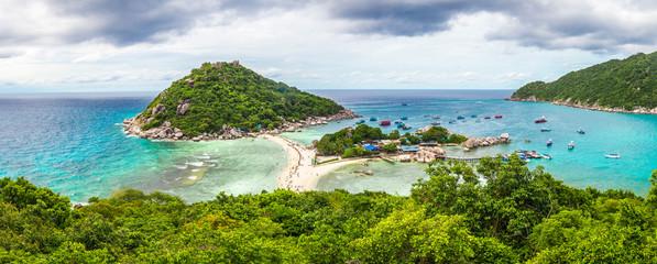 Koh Nang Yuan lookout, Thailand