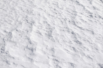 snow white background