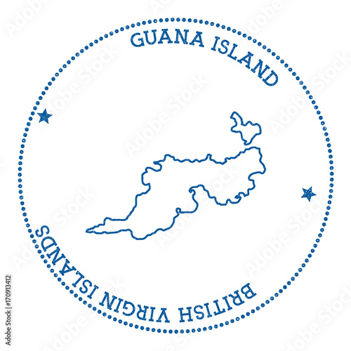 Search photos guana island stamp