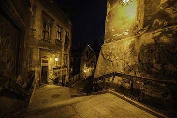 Wall Mural - zaczarowana ulica