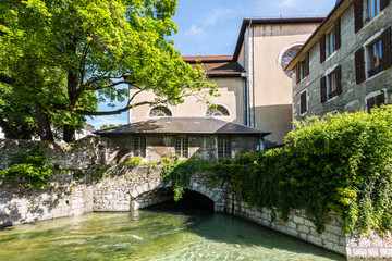 Architecture of Annecy, France, Europe