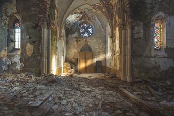 Lightbeam Old Church