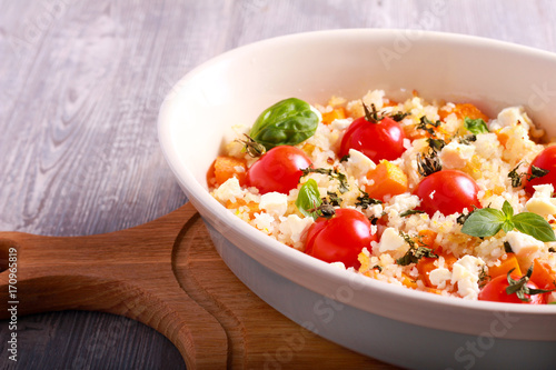 recipe: tomato and feta risotto [23]