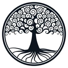 Weltenbaum Vektor
