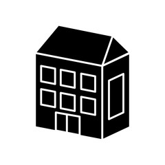 building cartoon draw icon vetor illustration graphic design