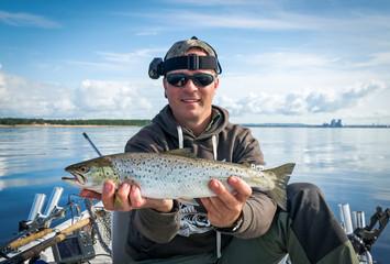 Sea trout fishing on Swedish west coast