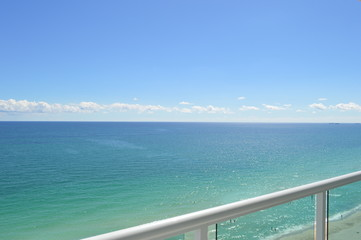 Miami Beach from balcony