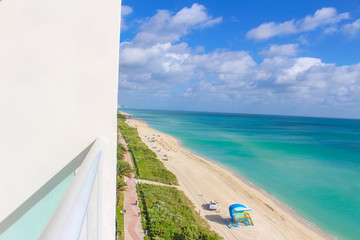 Awesome view of Miami Beach