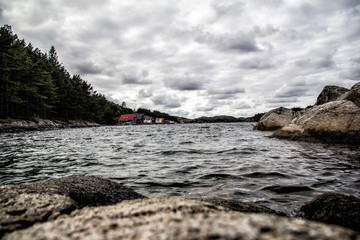 View of nature in Norway