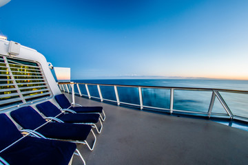 on the cruise ship