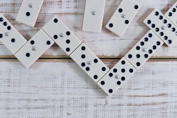 domino on the table