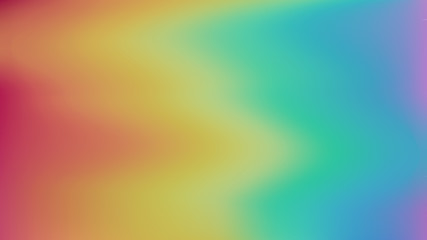 Colorful blurred gradient mesh rainbow abstract background