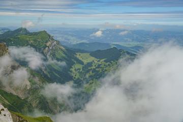 Awesome landscape over Mount Pilatus