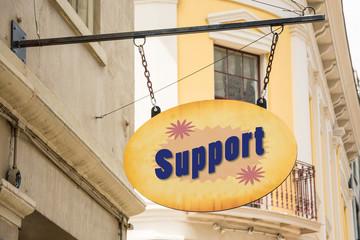 Schild 278 - Support