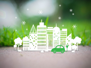 Ecology Green Town