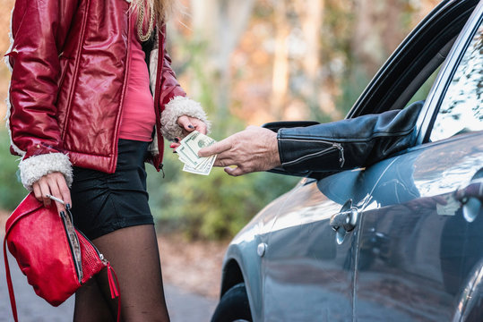 Giving money to prostitute