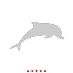 Dolphin it is icon .