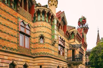 Capricho de Gaudi, Comillas, Cantabria, España