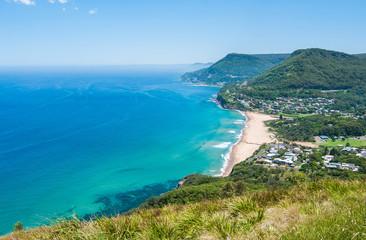 Idyllic Australian seaside town