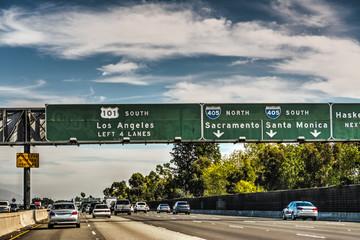 101 freeway in Los Angeles