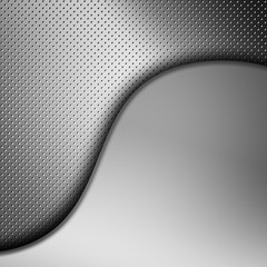 Silver grill texture