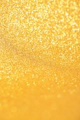 Golden abstract blur background