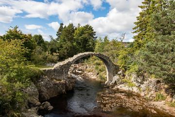 Old Packhorse Bridge, Carrbridge, Cairngorms National Park, Scotland
