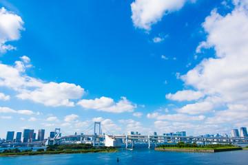 東京 都市景観 海辺