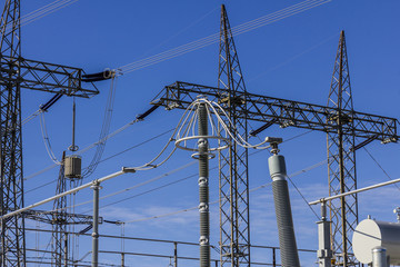 Dangerous High Voltage Electrical Power Substation III