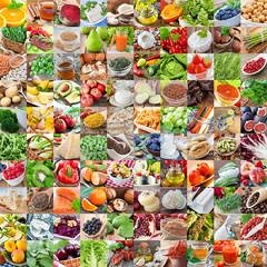 100 Health Foods - Gesunde Lebensmittel