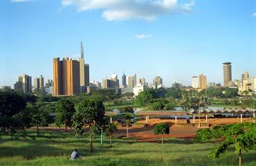 View of the city, Nairobi, Kenya