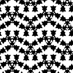 Tribal seamless pattern tile. Abstract geometric vector seamless pattern.