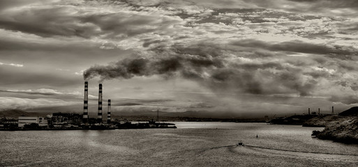 Pollution On The Bay