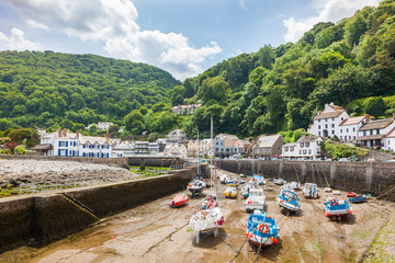 Lynmouth Devon England UK