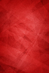 red background with layered white geometric shapes in artistic pattern, classy elegant Christmas or valentines day holiday red colors in a decorative design for graphic art backdrops or website design