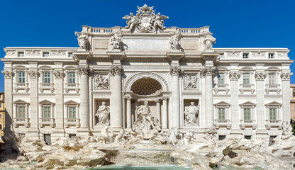"Rome, Italy - Magnificent ""Trevi Fountain."""