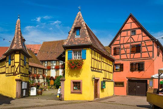 Eguisheim in Alsace, France