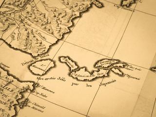 古地図 千島列島