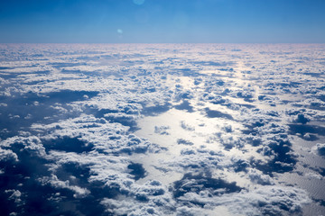 Clouds over Tasman Sea