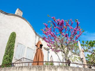 Architecture in Les Baux-de-provence, France
